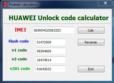 Huawei Unlock Code Calculator Tool Latest Version Download Free 100%